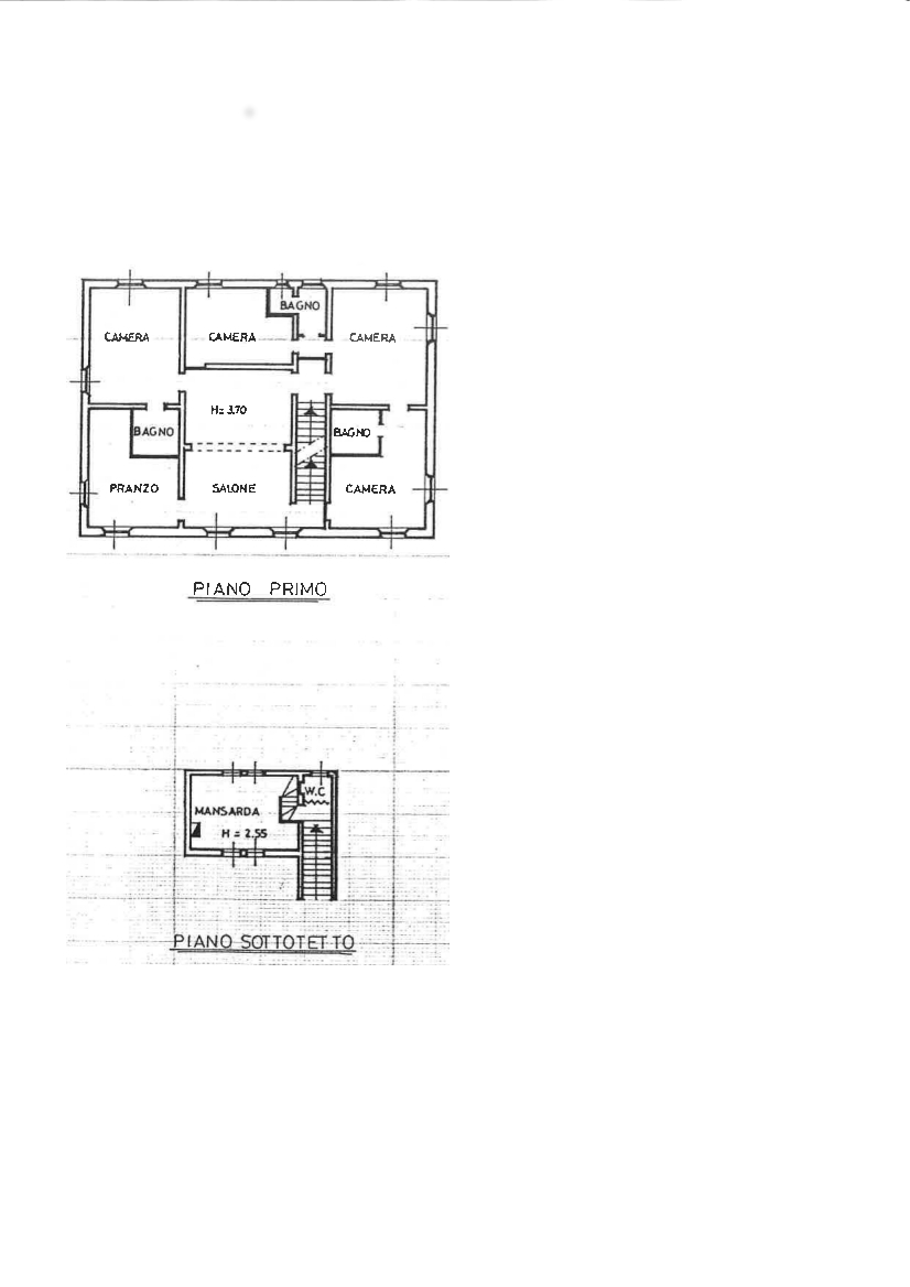 First floor farmhouse